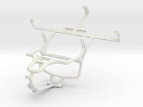 Controller mount for PS4 & Gigabyte GSmart Tuku T2 in White Natural Versatile Plastic