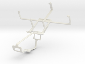Controller mount for Xbox One & HTC P6300 in White Natural Versatile Plastic