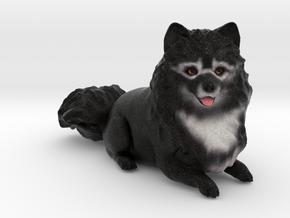 Custom Dog Figurine - Guku in Full Color Sandstone