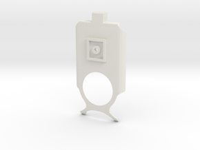 Lumia 1020 holder - bracket in White Natural Versatile Plastic