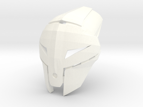 Kanohi Tepan - Mask of Psychometry (Bionicle) in White Processed Versatile Plastic