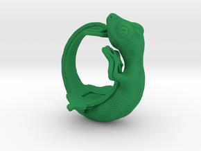Gecko Size7 in Green Processed Versatile Plastic
