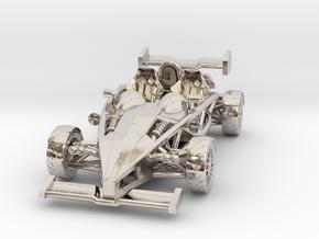 "Atom HO scale model w/wings 1.7"" LHD in Platinum"