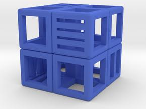 Dice152 in Blue Processed Versatile Plastic