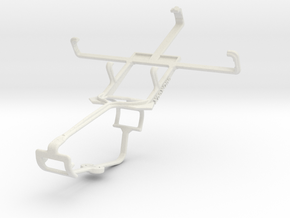 Controller mount for Xbox One & Karbonn A7 Star in White Natural Versatile Plastic
