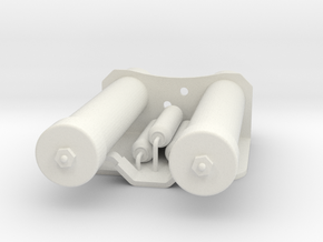 Power Cylinders for E11 blaster in White Strong & Flexible