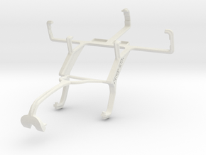Controller mount for Xbox 360 & Kyocera Rise C5155 in White Natural Versatile Plastic