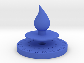 Life Counter Water in Blue Strong & Flexible Polished