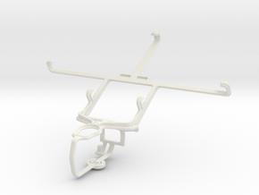 Controller mount for PS3 & Lenovo K900 in White Natural Versatile Plastic