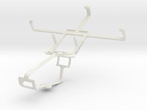 Controller mount for Xbox One & Lenovo P770 in White Natural Versatile Plastic