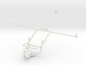 Controller mount for PS4 & Lenovo Miix 2 10 in White Natural Versatile Plastic