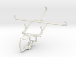 Controller mount for PS3 & Lenovo S890 in White Natural Versatile Plastic