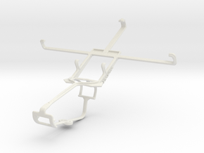 Controller mount for Xbox One & Lenovo S920 in White Natural Versatile Plastic