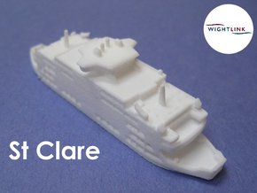 MV St Clare (1:1200) in White Natural Versatile Plastic