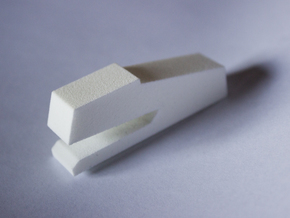 Stapler in White Natural Versatile Plastic