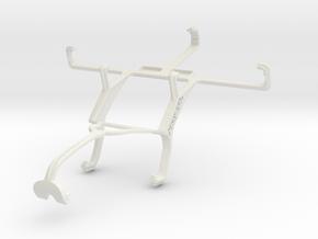 Controller mount for Xbox 360 & LG Optimus 3D Max  in White Natural Versatile Plastic