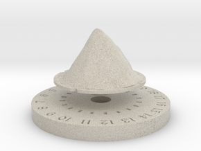 Life Counter - Mountain in Natural Sandstone