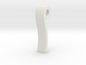 Rin's Necklace in White Natural Versatile Plastic