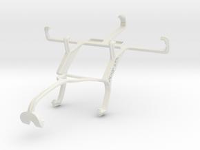 Controller mount for Xbox 360 & LG Optimus L5 II E in White Natural Versatile Plastic