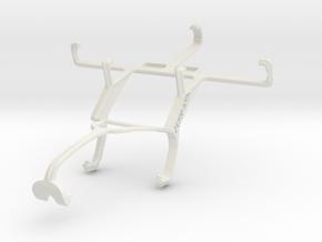 Controller mount for Xbox 360 & LG Optimus L5 II D in White Natural Versatile Plastic