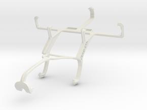 Controller mount for Xbox 360 & LG Optimus L4 II E in White Natural Versatile Plastic