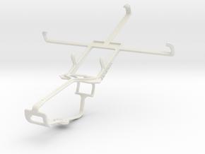 Controller mount for Xbox One & LG Optimus Vu F100 in White Natural Versatile Plastic