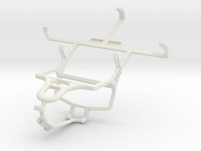 Controller mount for PS4 & Meizu MX in White Natural Versatile Plastic
