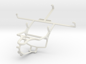 Controller mount for PS4 & Maxwest Orbit X50 in White Natural Versatile Plastic