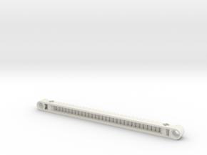 Gear Rack 15l in White Natural Versatile Plastic