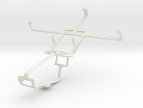 Controller mount for Xbox One & Micromax A61 Bolt in White Natural Versatile Plastic