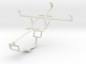 Controller mount for Xbox One & Motorola ATRIX TV  in White Natural Versatile Plastic