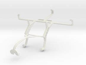 Controller mount for Xbox 360 & Motorola DROID RAZ in White Natural Versatile Plastic