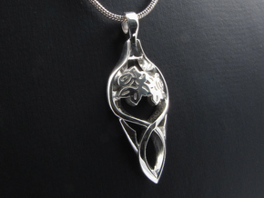 Hope in Fine Detail Polished Silver