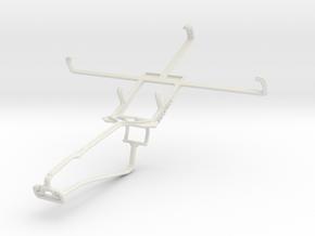 Controller mount for Xbox One Chat & Motorola Nexu in White Natural Versatile Plastic