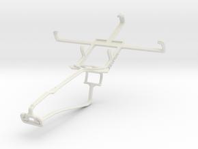 Controller mount for Xbox One Chat & Motorola RAZR in White Natural Versatile Plastic