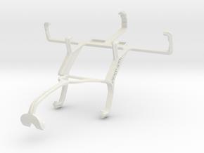 Controller mount for Xbox 360 & Motorola SPICE Key in White Natural Versatile Plastic