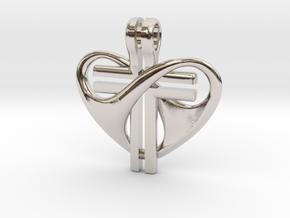Love and Sacrifice - LARGE in Platinum