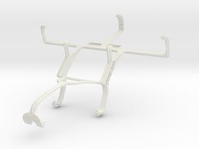 Controller mount for Xbox 360 & NEC Terrain in White Natural Versatile Plastic