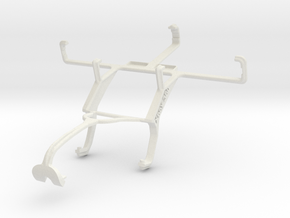 Controller mount for Xbox 360 & Pantech Burst in White Natural Versatile Plastic