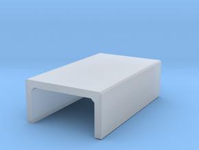 H0 Box Culvert Half Height (size 2) in Smooth Fine Detail Plastic