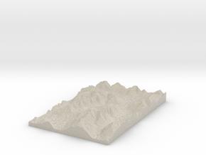 Model of Trinity Stream in Sandstone