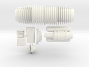 Merr Sonn Power 5 V 2.0 (no Flash Hider) Kit in White Processed Versatile Plastic