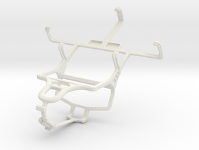 Controller mount for PS4 & Philips W5510 in White Natural Versatile Plastic