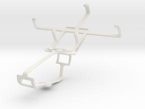 Controller mount for Xbox One & Plum Capacity in White Natural Versatile Plastic