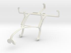 Controller mount for Xbox 360 & Plum Orbit in White Natural Versatile Plastic