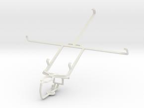 Controller mount for PS3 & Prestigio MultiPad 4 Ul in White Natural Versatile Plastic