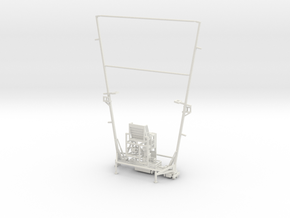 Ejection Seat 1:220 / 1:160 / 1:87 in White Natural Versatile Plastic: 1:220 - Z