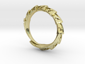Carapace Ring in 18K Gold Plated
