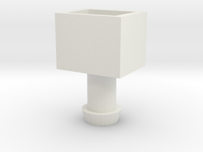 MP-22 Cab to MP-10 Trailer Adapter. in White Strong & Flexible