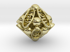 Spore Decader d10 in 18K Gold Plated